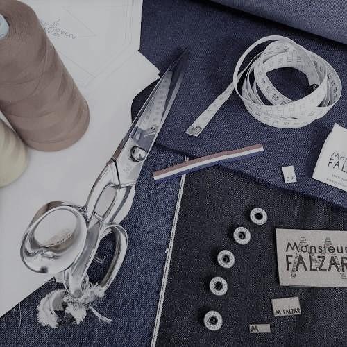 Jeans français sur mesure