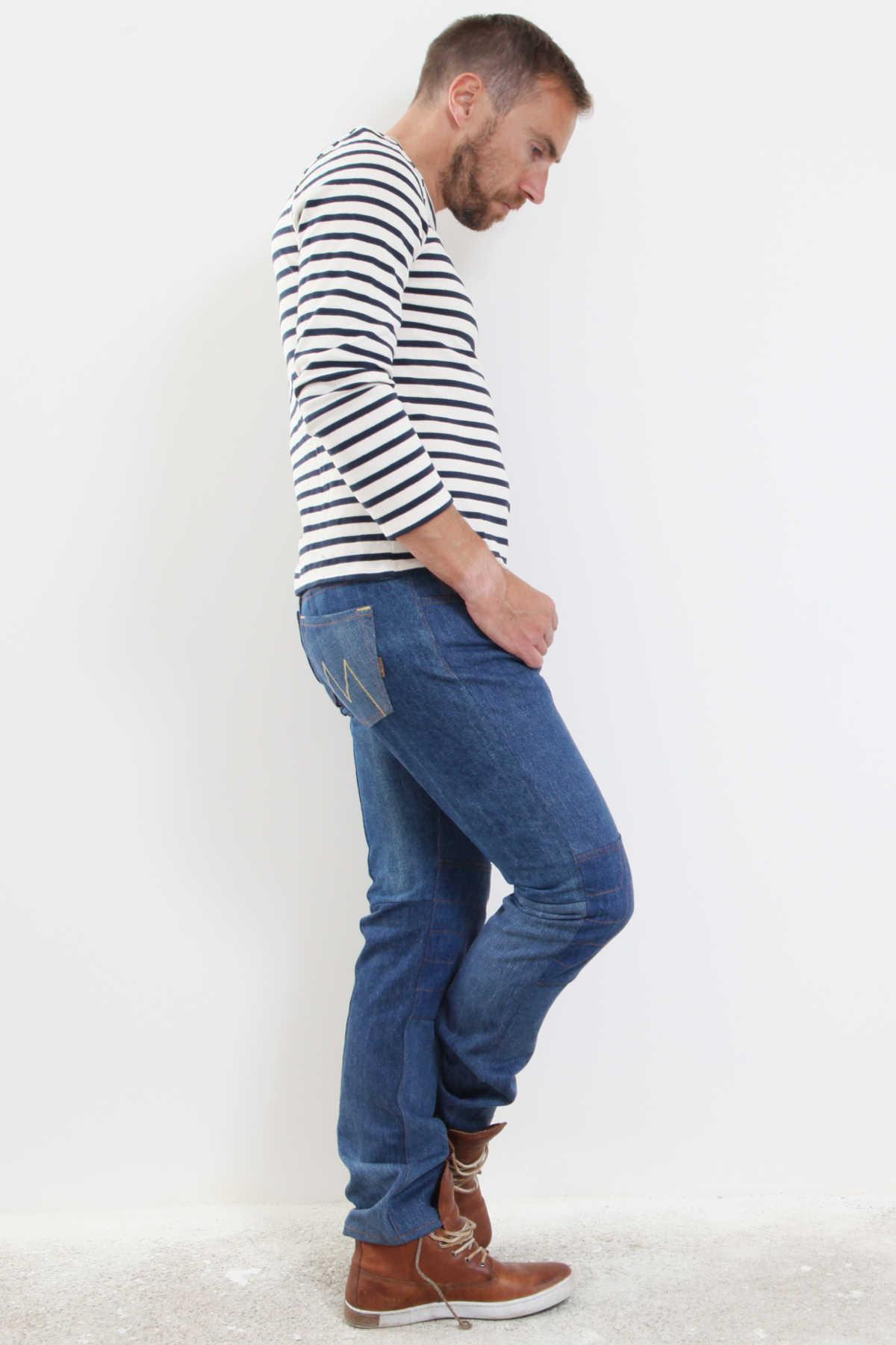 Jeans français sur mesure Le Vintage