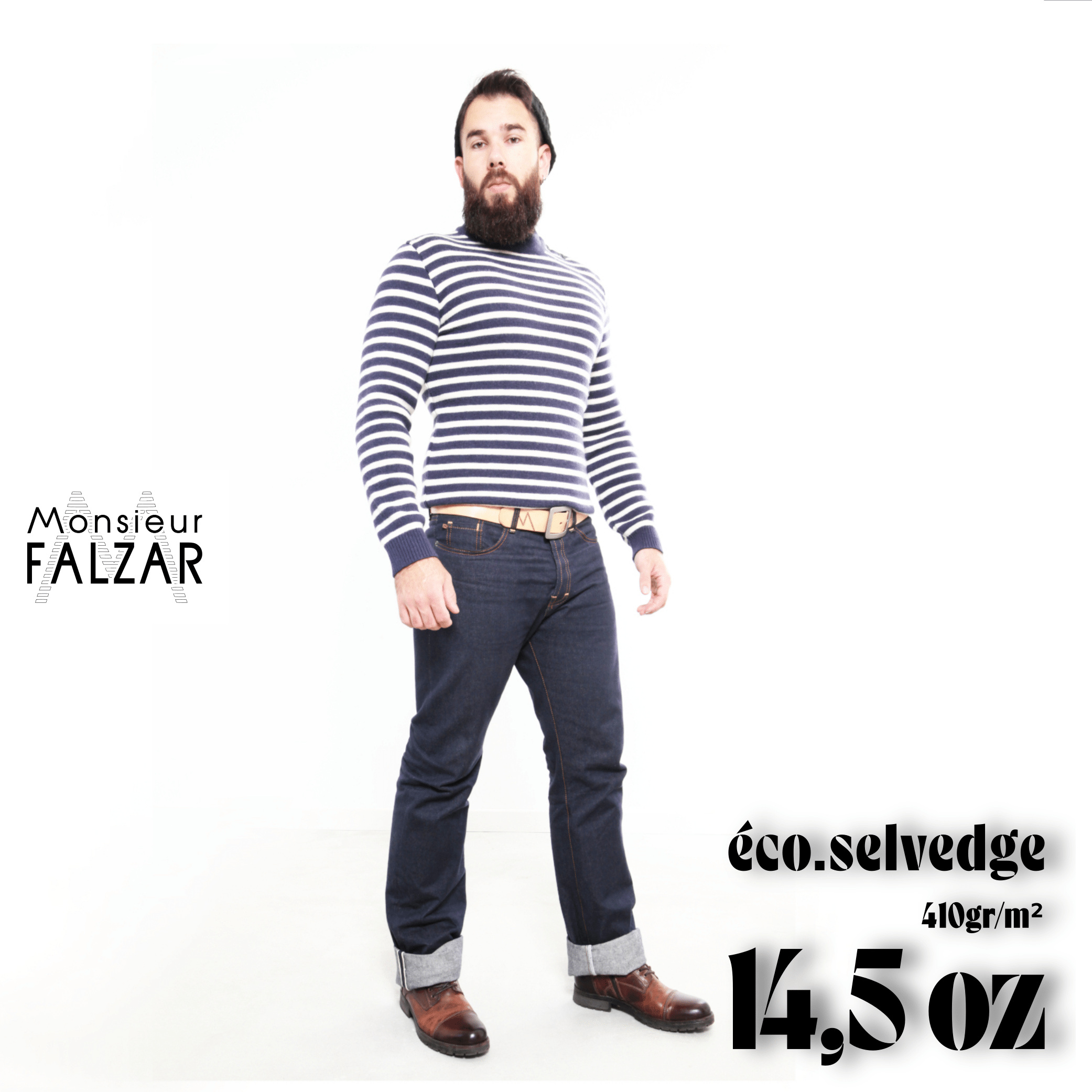 Le jeans Eco-selvedge 14,5 oz
