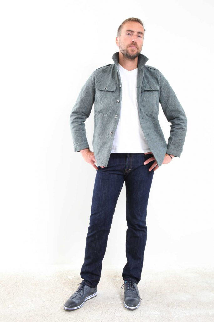 Jeans Selvedge made in France