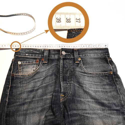 Guide des tailles pour jeans sur mesure
