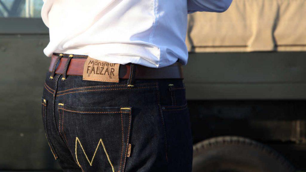 Le, Jeans selvedge français par Monsieur Falzar
