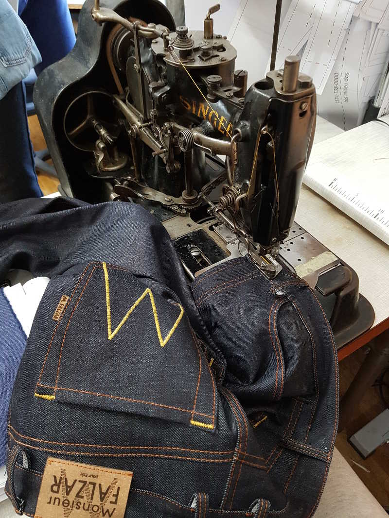 fabrication de Jeans made in France,