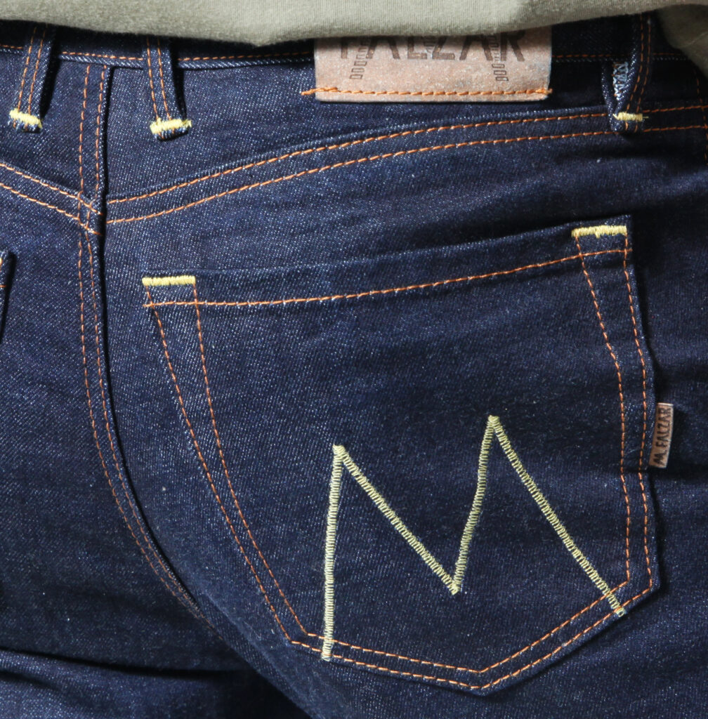 Selvedge 480gr/m² 17 oz (tissage Asie)